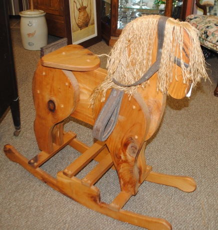 Hand-made Rocking Horse