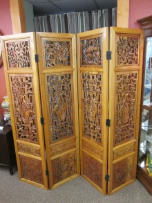 Ornate Carved Screen